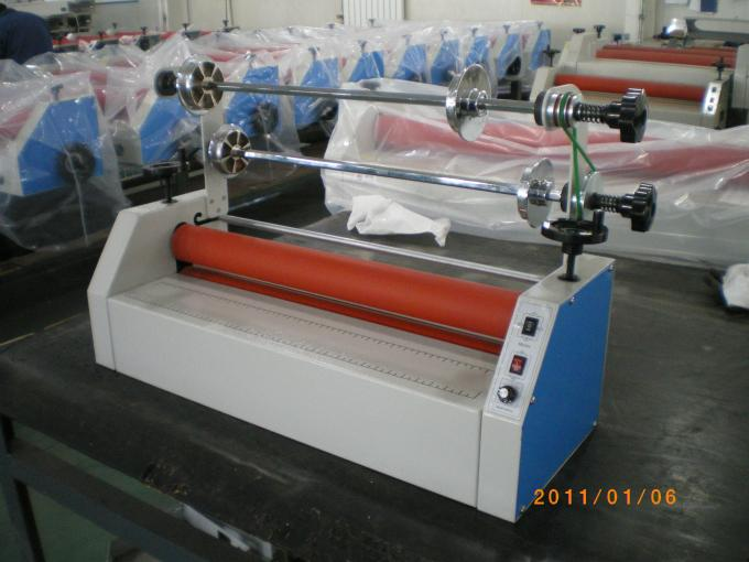 Adjustable BU-650II Cold Roll Laminator Machine Plus Foot Pedal
