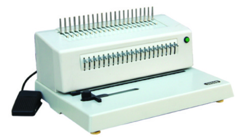 Electric Comb Binding Machine CB-1220E with CE Certificate