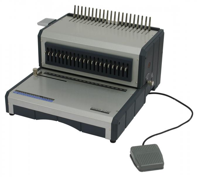 Electric Comb Binding Machine CB-1430E with CE Certificate