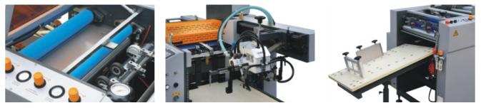 Automatic Single & Double Side Paper Laminating Machine With