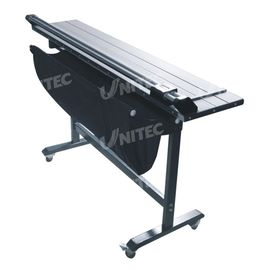 China 1460x310mm 8 Sheet Rotary Trimmer Twin With Chrome - Plate Steel Guide Rail S-001/S-004 supplier