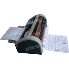 China Semi - Automatic Business Card Slitter 30 Cards / Min With CE Certificated supplier