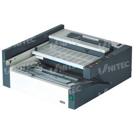 China 38Mm Hot Melt Glue Electric Binding Machine 380Sheets 100 Books / Hour GB-6210 supplier