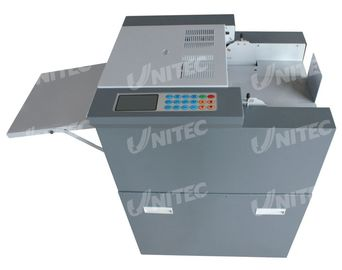 China Automatic Business Card Slitter Machine SSA-005 10mm Maximum Feed Stac supplier