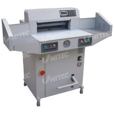 Electric Hydraulic Paper Cutting Machine 1700W 30mm Narrow Cut  BW-R520V2