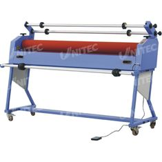 China 50W Electric Automatic Roll Laminator Machine Release Liner Take - Up LD-1600EIV-L supplier