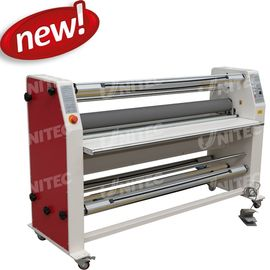 China 6mm / Minute Roll To Roll Lamination Machine Cold Heavy Duty Laminators BU-1600RFZ-Y supplier