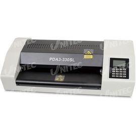 China 1.5m / min Office Metal Pouch Lamination Machine 330mm Laminating Width PDA3-330SL supplier