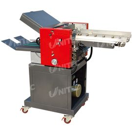 China Industrial Paper Folding Machine , 50GSM - 175GSM Paper Fold Machine supplier