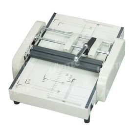 China HD-ZY1 70Gsm Paper Booklet Maker , Manual Free Pamphlet Maker supplier