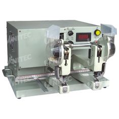China 165mm Working Length Automatic Eyelet Machine 370W Double Head supplier
