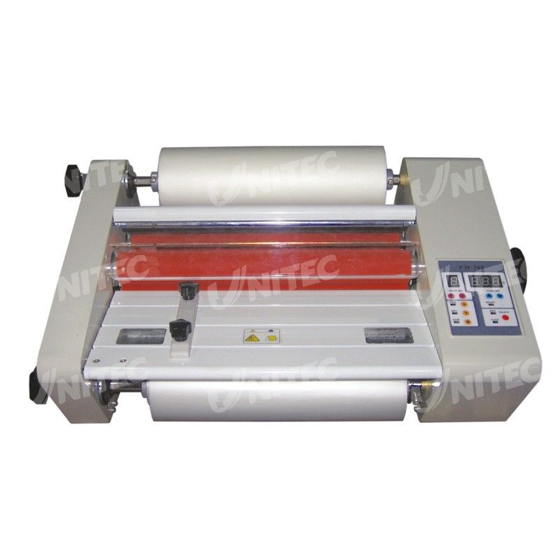 Wide Format Thermal Laminating Machine , Roll To Roll Laminator 28Kg ...