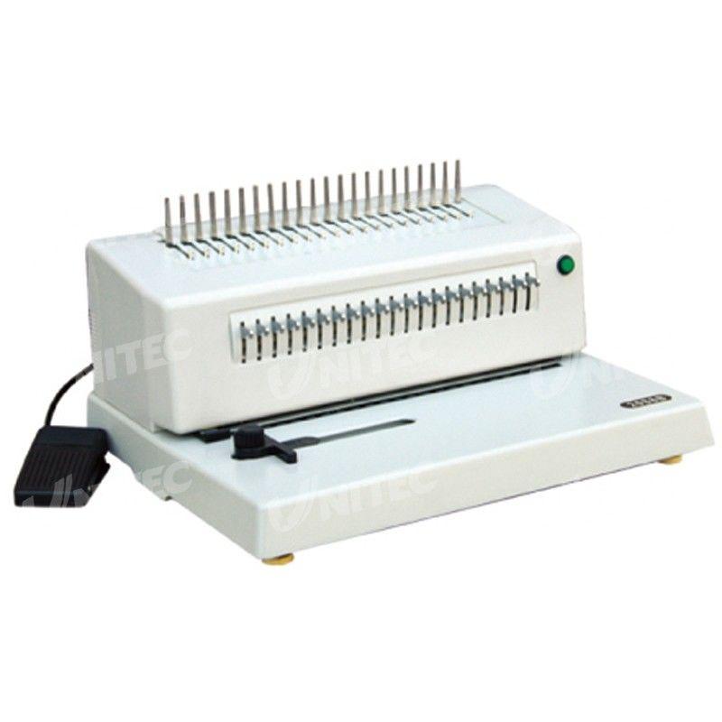 Electric Comb Binding Machine CB-1220E with CE Certificate