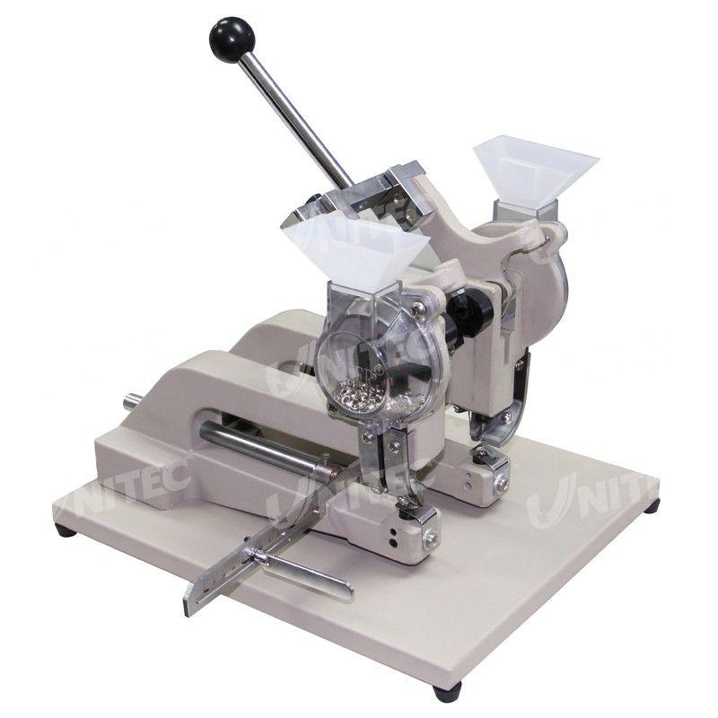 CE 26Kg Hand Eyelet Press Machine Two Head 3mm Binding