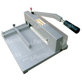 China Manual Paper Cutting Machine , Electric Paper Cutters Heavy Duty XD-320 distributor