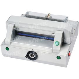 China Compact Automatic Table Top Paper Cutting Machine 320mm Table Depth HD-QZ320 distributor