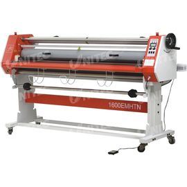 China Glue - Proof Paper Roll Lamination Machine , Electric Cold Roll Laminating Machine LD-1600EMHTN factory