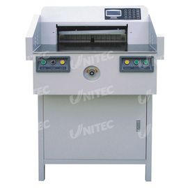 China BW-520V Computerized Paper Cutter 190.0Kgs With Power Backgauge distributor
