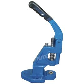 China Blue Hand Eyelet Press Machine 8Kg Hole Puncher 350x250x100 mm distributor