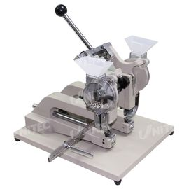 China CE 26Kg Hand Eyelet Press Machine Two Head 3mm Binding Thickness factory