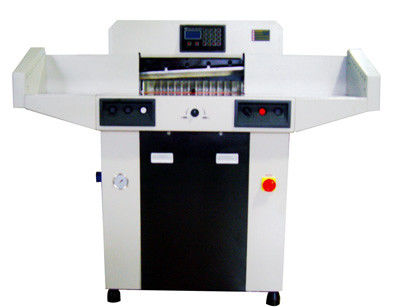 380.0kgs Hydraulic Computerized Paper Cutter 480mm Table Depth 480HP
